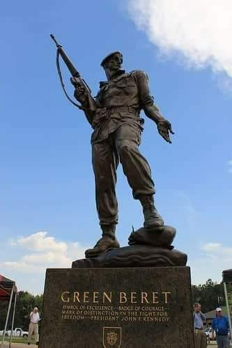 Bronze Bruce - Special Warfare Memorial Statute